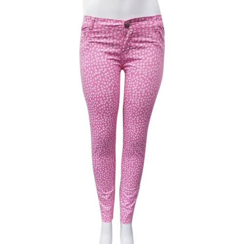 31db69ac8487d9 Pink Ladies Printed Cotton Pant, Rs 350 /piece, M/s. Ankur Fab World ...