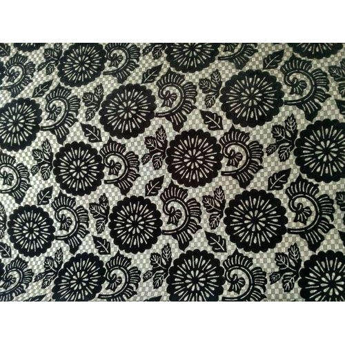 Flocked Flock Furnishing Fabric