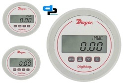 Dwyer DM-1105 DigiMag Differential Pressure & Flow Gauge