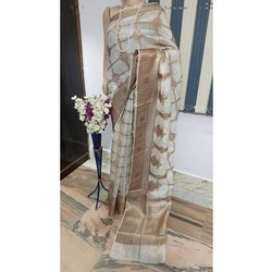 Party Wear Embroidered Ladies Designer Silk Saree, 5.5 M (separate Blouse Piece), Packaging Type: Packet