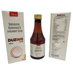 Multivitamin  Multimineral  Antioxidant With Ginseng Syrup (duzing 200ml)