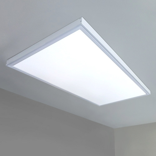 Syska White and Warm White LED Panel Light, Shape: Square and Rectangle