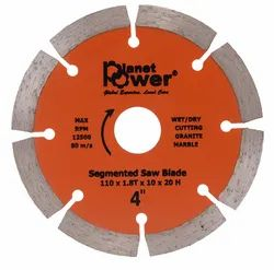 Plant Power 110 mm Segmented Diamond Blade