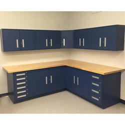 Wooden Modular L Shape Cabinet for Kitchen