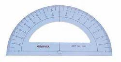 Half Round Shape Protractor Ruler