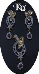 KO-475 Ladies Artificial Necklace Set
