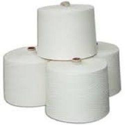 16 - 40 White Cotton Spun Yarn, For Weaving & Knitting