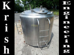 Ss316-ss304 Stainless Steel Food Process Mixing Tank, 01year, Max Design Pressure: 0-10 bar