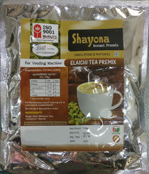 Shayona Branch Elaichi Tea Premix Powder, Packaging Type: Bag