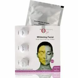 O3  Whitening Facial Kit Includes Milk Wash, Microderma Brasion, Whitening Cream and Peel Off Mask