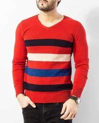 Mens Multicolor Sweater