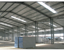 Galvanized MS Prefabricated Structure