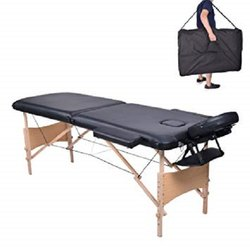 2 Section Wooden Massage Table