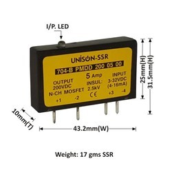 5AMP MODEL 704 DC TO DC MOSFET SSR