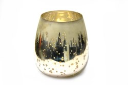 Printed Toughened Glass Decorative Vases