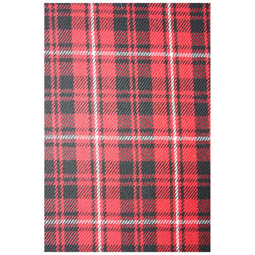 Red And Black Multi Checkered Fabric Use Garments Id 14383660433