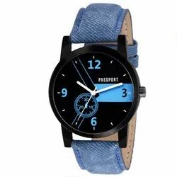Round Mens Wrist Watch