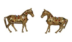 Brass Horse Stone Work