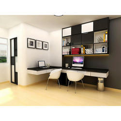 Marvelous Study Room Interior Designing Service