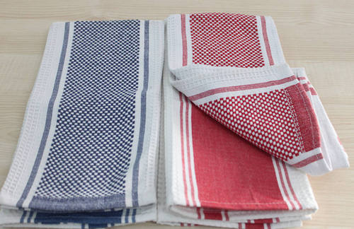 Kitchen Towels Waffle Weave Tea Towel Manufacturer From Erode