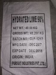 Hydrated Lime 90 - 92%