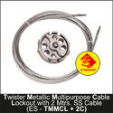 Twister Metallic Multi Purpose Cable Lockout