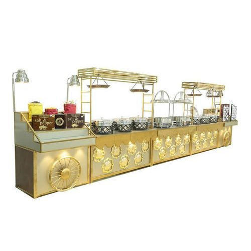 Golden Design Catering Counter