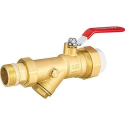 Brass Ball Valves With Y Strainer