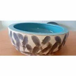 Round Ceramic Wash Basin