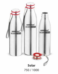 Solar Single Wall Insulated Water Bottle