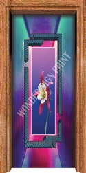 Decorative UV PVC Membrane Door Print Thickness: 0.26 mm
