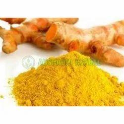 Aushadhi Herbal Powder Turmeric Extract, Packaging Type: Polybag