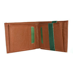 Leather Woodland Wallet