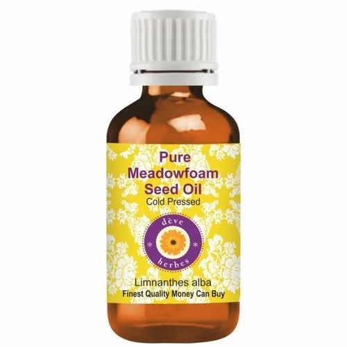 Deve Herbs Pure Meadowfoam Seed Oil (Limnanthes alba) 100% Natural Therapeutic Grade Cold Pressed