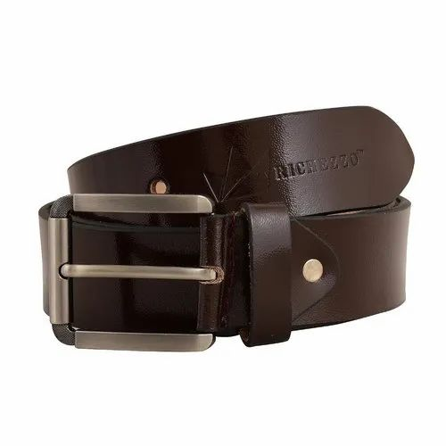 Richezzo Formal Wear Brown Leather Mens Belts, Rs 350 /piece Luxurious  Lifestyle | ID: 20677890162
