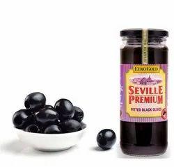 450 gm Black Sliced Olives