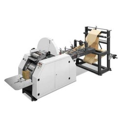 Roll-fed V Bottom Bag Making Machine