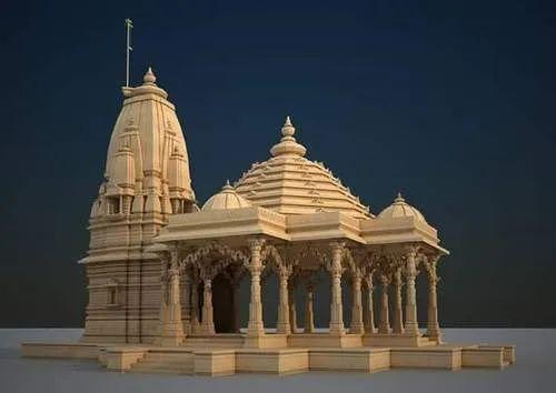 Big Temple Construction