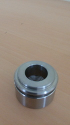 Silver Color CNC Machining Components For Automobile Sector