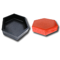 Hexagon Paver Blocks Rubber Mould