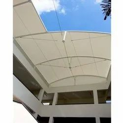 Membrane Tensile Roof Structures for Balcony