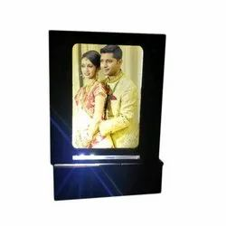 Sublimation LED Rotating Lamp For Gift, Size: 6 x 6 Inch