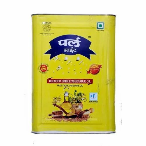 Pearl Lite Blended Edible Vegetable Oil, Liquid