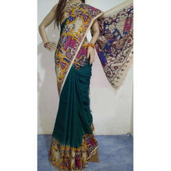 Pure Cotton Casual Wear Kalamkari Saree