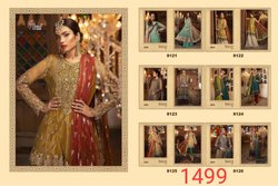Shree Fabs Maria b Mbroidered Suits