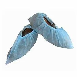 Blue Sprotection Non Woven Shoe Cover for Labs