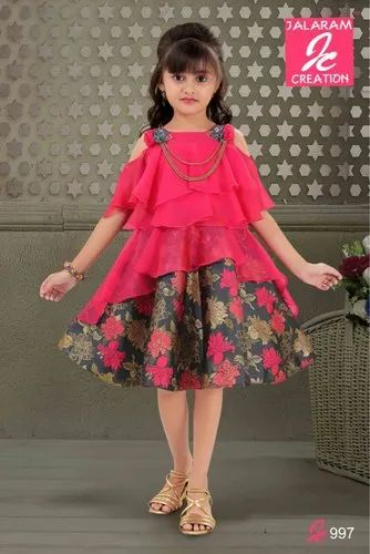 Girls Party Wear Dress गर ल स प र ट ड र स लड क य क प र ट ड र स In Karol Bagh New Delhi Lekhus Collections Private Limited Id 20377822197