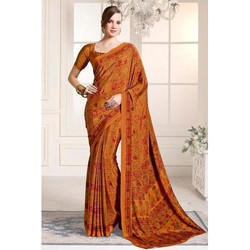 Printed Silk Saree