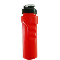 Red Plastic Sipper Bottle, Capacity: 1 Litre