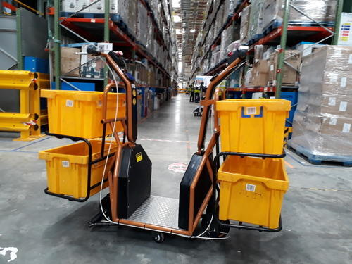 Electric Vehicle Moptro Snail Warehouse Picking